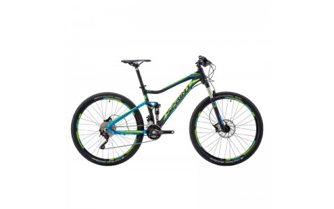 Bicicleta Sprint Addicted Elite 27.5 negru/albastru 2016 50 cm
