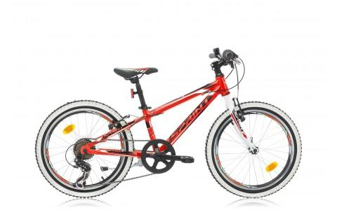 Bicicleta Copii, Sprint, Apolon, 20 inch, Rosu-Alb, 2016