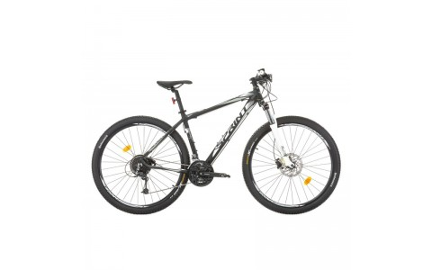 "Bicicleta MTB, Sprint Apolon Pro, Negru-Alb, 29"", 440 mm"