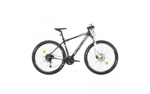 "Bicicleta MTB, Sprint, Apolon Pro, Negru-Alb, 29"", 48 cm"