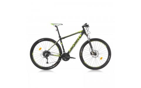 Bicicleta Sprint Apolon Pro 29 negru mat/verde lime 2016-480 mm
