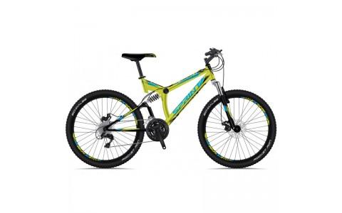 Bicicleta Sprint Element DB 26 verde lime-albastru 2018-460 mm