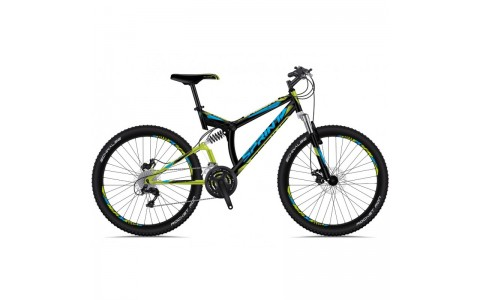 Bicicleta Sprint Element DB 26 negru/verde 2018-460 mm