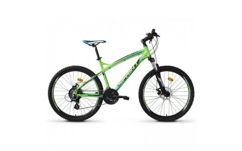 Bicicleta Sprint GTS 26 verde/negru 2017-450 mm