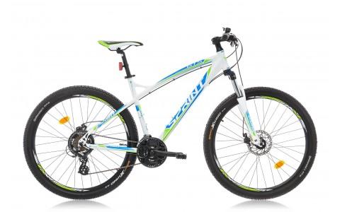 Bicicleta MTB, Sprint, GTS, Roti 27.5 inch, Alb/Albastru/Verde, MDB, 2016