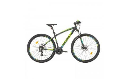 Bicicleta Sprint GTS 29 negru/verde 2017-440 mm