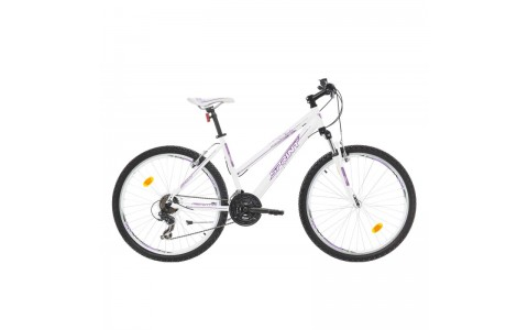 Bicicleta MTB Dama Sprint Karolina 26 alb/violet 2017-430mm