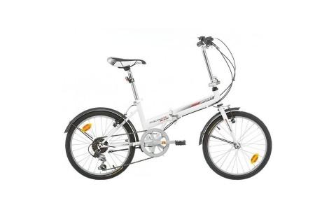 Bicicleta pliabila Bikesport 20 alba 2017