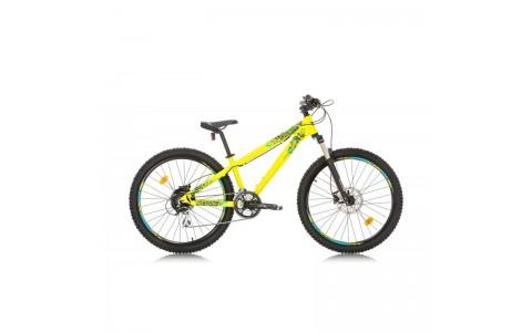 Bicicleta MTB Dirt, Street, Sprint Primus DD 26 Neon Yellow