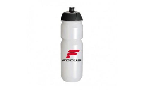 Bidon apa FOCUS CLASSIC 750ml alb/negru/rosu