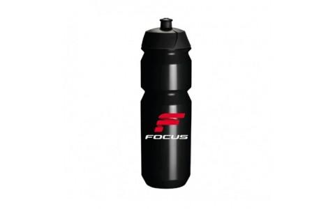 Bidon apa FOCUS CLASSIC 750ml negru/alb/rosu
