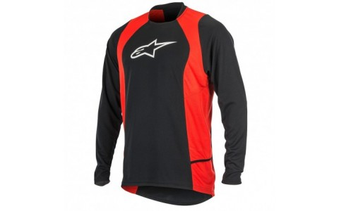 Bluza Alpinestars Drop 2 long Sleeve Jersey black/red L