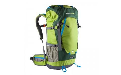 Rucsac universal, NorthFinder Anapurna, 40+5L Verde-Gri, husa de ploaie inclusa