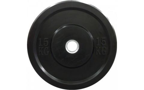 Disc Olimpic din fonta cauciucata, Dayu Fitness, 15 Kg