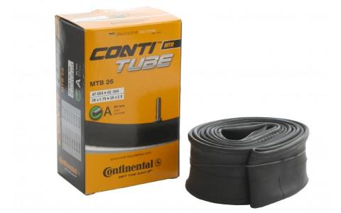 Camera Bicicleta, Continental, MTB 26 A40 , 26x1.75-26x2.5, 47/62-559