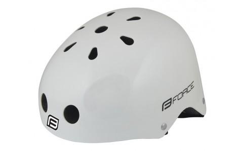 Casca Bicicleta, Force, BMX, Alb Lucios, marime L-XL