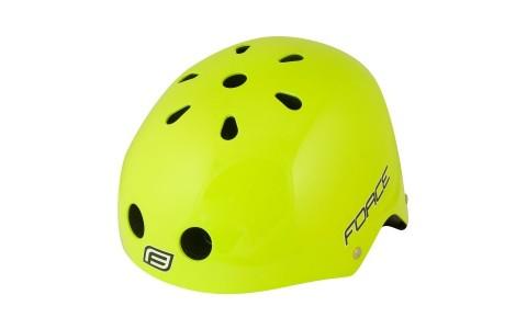 Casca Bicicleta, Force, BMX, Fluorescent, Marime L-XL