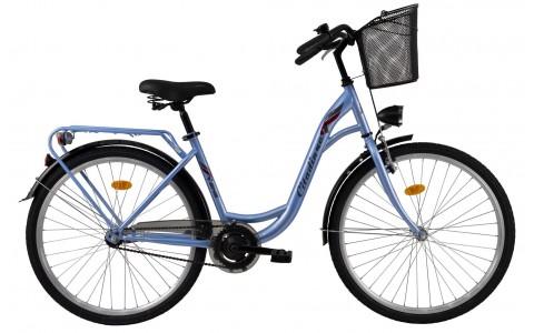 Bicicleta Oras Pentru Femei, DHS, Citadinne 2632, Model 2017, 26 inch