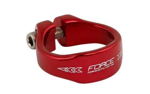 Colier Bicicleta, Force, 34.9 mm, Aluminiu, Rosu