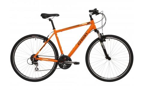 """Bicicleta Creon Dover, 28"""", portocaliu-negru"""