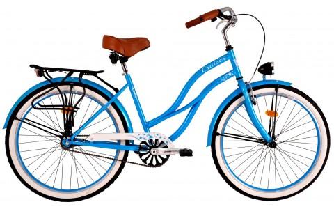 Bicicleta Cruiser, DHS, 2696, Jante 26 inch, Cadru 500 mm, 2017