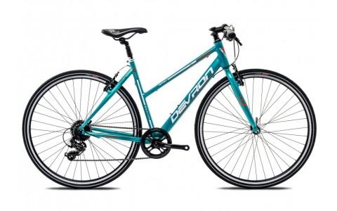 Bicicleta Oras, Dama, Devron Urbio LU1.8, Cadru Aluminiu, Jante 28 Inch