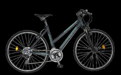 Bicicleta Cross Fitness, Dama, DHS, Contura 2866 - Model 2015, 28 inch