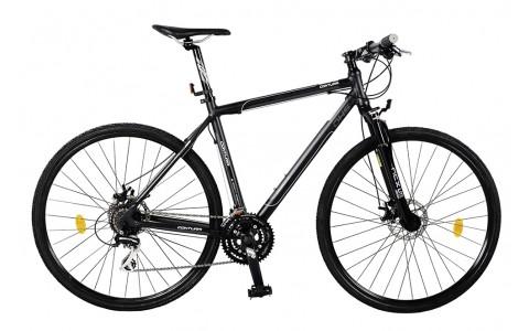 Bicicleta Cross Fitness DHS Contura 2867 - model 2015 28''-Negru-Cadru 480 mm