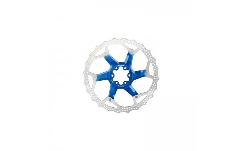 Disc frana Reverse Discrotor 203mm aluminiu/otel albastru inchis