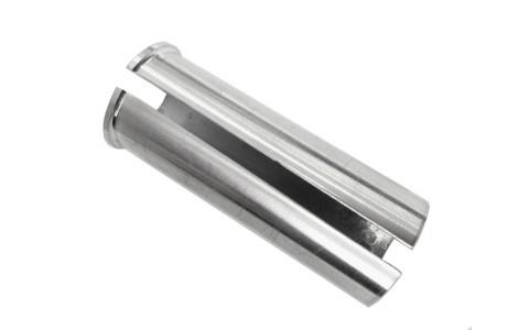 Distantier adaptor tija sa Bicicleta, Promax, Aluminiu, Argintiu