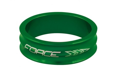 Distantier Furca Bicicleta, Force, 1.1/8 inch, 10 mm, Verde