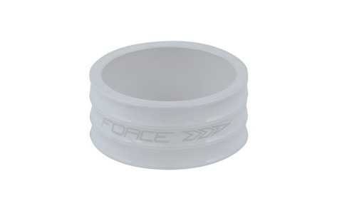 Distantier Furca, Force, 1.1/8 inch, 15 mm, Aluminiu, Alb