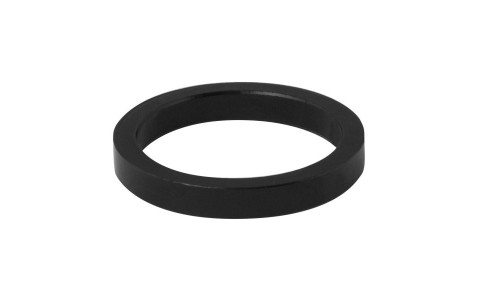Distantier Furca, Force, 1.1/8 inch, 5 mm, Aluminiu, Negru