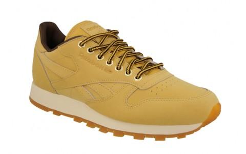 Pantofi Sport, Reebok, Classic Leather Wheat, Maro Deschis