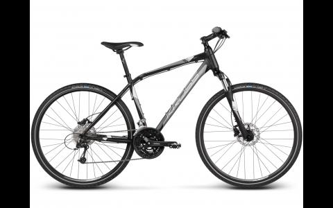 Bicicleta Kross Evado 5.0, XL, 2017, negru-argintiu