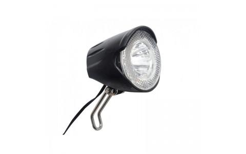 Far Fata Bicicleta, Union, UN-4258, AM 20 Lux, Pentru Dinam cu Senzor si Condensator