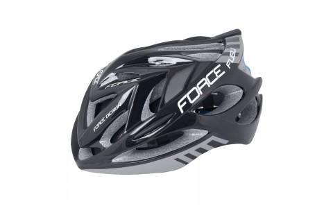 Casca Bicicleta, Force, Fugu, Negru-Gri, Elemente Reflectorizante