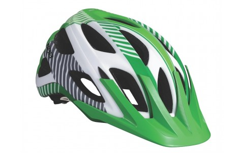 Casca Bicicleta, BBB, Nerone, Alb Mat-Verde, All Mountain