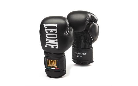 Manusi Box, Leone, Professional, GN012-01, Negru, Marime 12 Oz