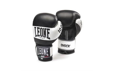 Manusi Box, Leone, Shock, GN047-01, Negru, Marime 10 Oz