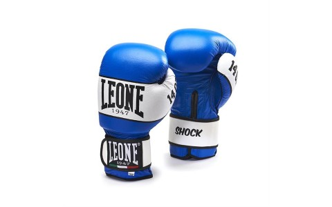 Manusi Box, Leone, Shock, GN047-02, Albastru, Marime 16 Oz