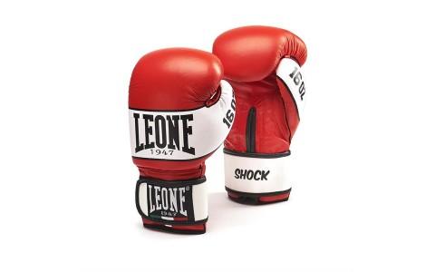 Manusi Box, Leone, Shock, GN047-03, Rosu, Marime 16 Oz
