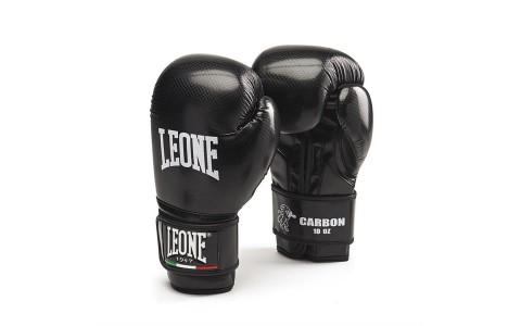 Manusi Box, Leone, GN073-01, Carbon, Unisex, Negru, Marime 10 Oz