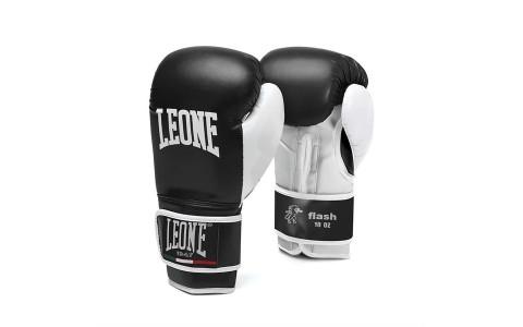 Manusi Box, Leone, Flash, GN083-01, Negru, Marime 16 Oz