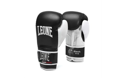 Manusi Box, Leone, Flash, GN083-01, Negru, Marime 10 Oz