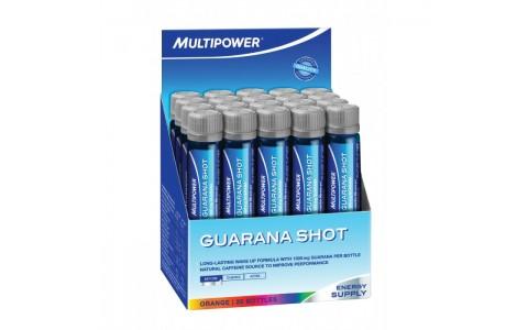 Supliment Guarana, Multipower, Orange, 20 fiole x 25 ml