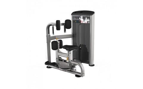 Aparat Rotary Torso, Impulse Fitness, IE 9518, 1241x1263x1528 mm