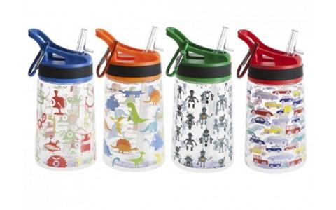 Sticla de apa pentru copii, Summit, 350 ML, Verde
