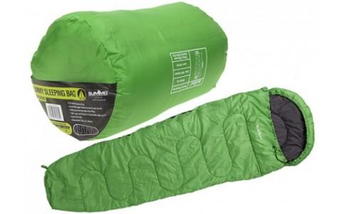Sac de Dormit Summit, Mummy Therma Sleeping Bag, Verde