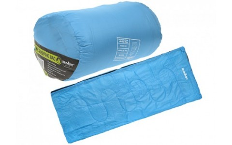 Sac de Dormit Summit, Envelope Therma Sleeping Bag, Albastru